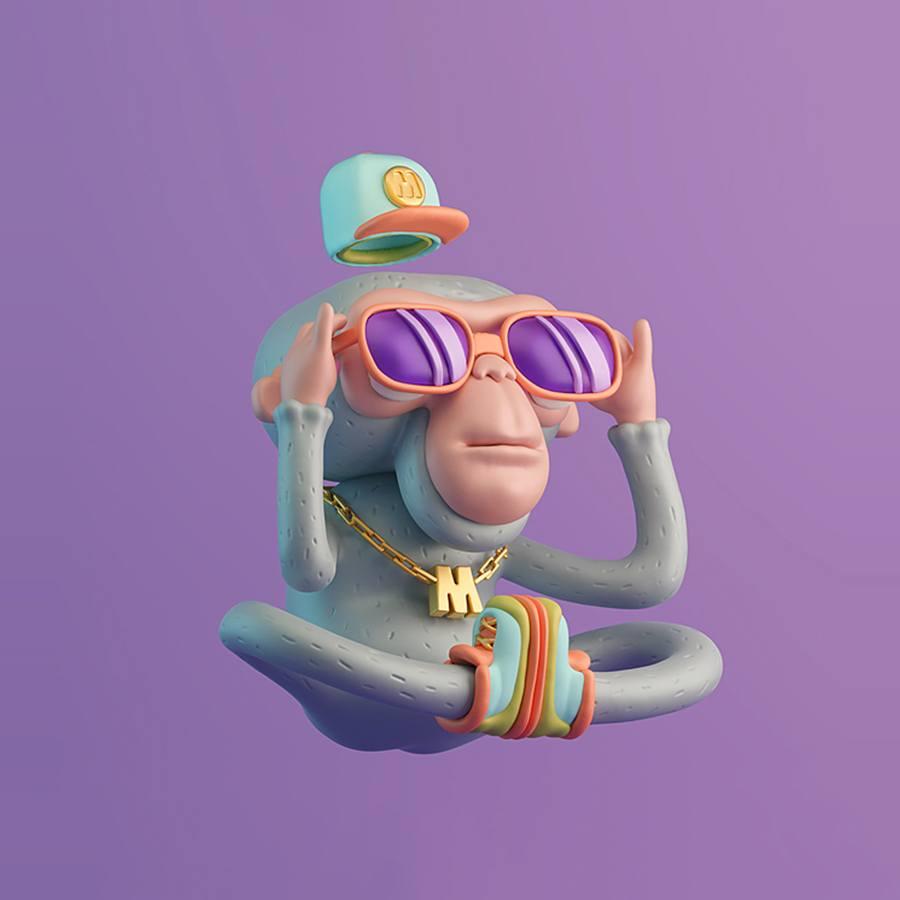 Purple Monk